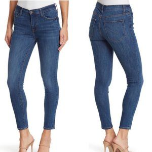 Hudson Mid Cropped Skinny Jeans, Size 27, NWT